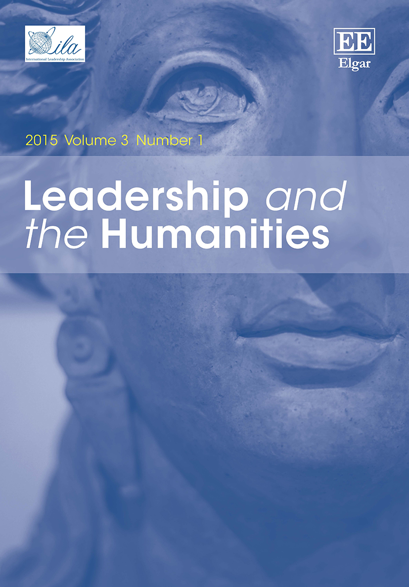 Leadership and the Humanities